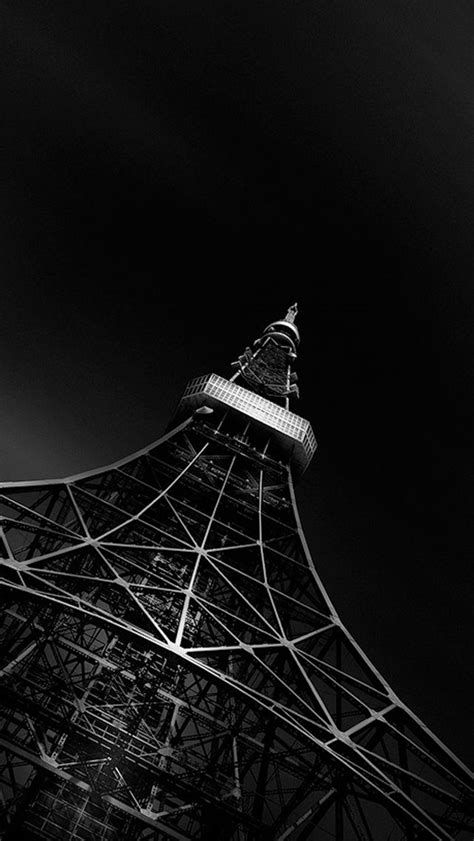 Black Wallpaper Iphone Eiffel Tower by Fading Black Eiffel Tower Iphone 5s Wallpaper Iphone