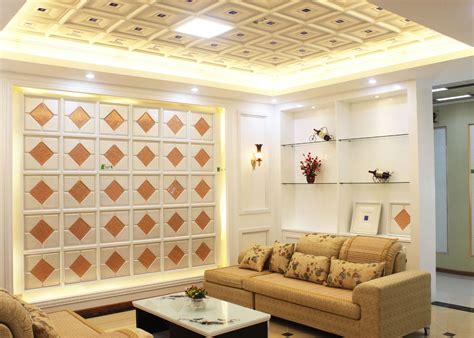 panneaux de plafond d 233 coratifs int 233 rieurs artistiques pour le salon essai de gv