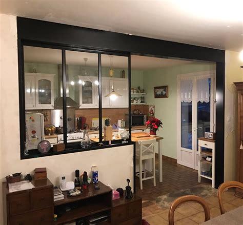 ouverture cuisine ouverture mur cuisine salon maison design bahbe com