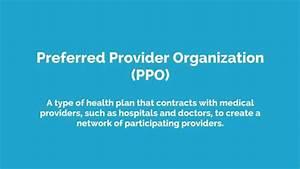 Health Insurance Vocab - Preferred Provider Organization ...