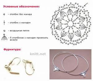 Ergahandmade  Crochet Earrings   Diagram   Free Pattern