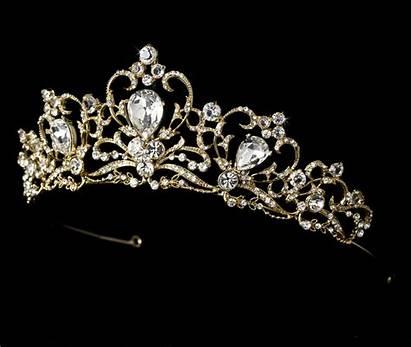 Tiaras Royal Princess Gold Bridal Silver Tiara