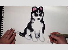 Pixel Art Puppy Easy Draw 0
