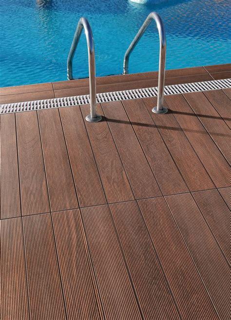 Aussen Fliesen Holzoptik by Porcelain Wood Look Tiles For Outdoor Decks