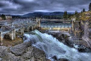 Post Falls Dam March 2013 Photograph by Lee Santa