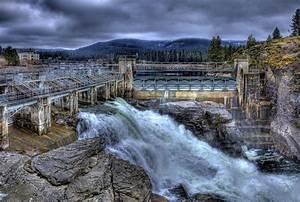 Post Falls Dam March 2013 Photograph by Lee Santa