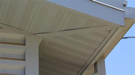 flush panel soffit fp metal soffit concealed fastener dimensional metals