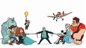 Pixar vs. Disney Animation: John Lasseter's Tricky Tug-of ...