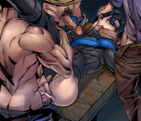 Rule 34 Abs Anal Bara Batman Series Cum Dc Dick