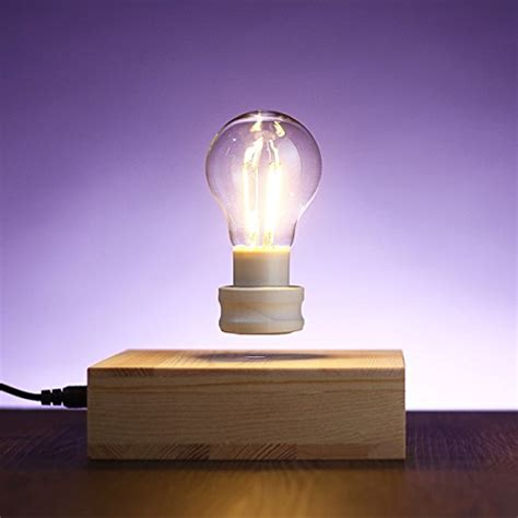 floating light bulb levitating light bulb l bathes your space in the soft