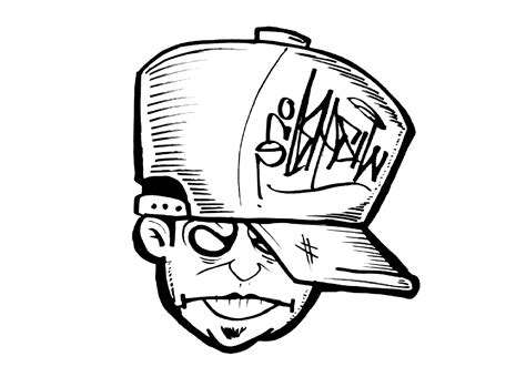 How To Draw Face (graffiti Character )