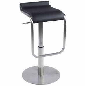 Repose Pied Design : tabouret design avec repose pieds modena noir ~ Teatrodelosmanantiales.com Idées de Décoration
