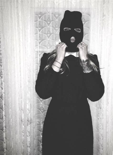 ski mask tattoo tumblr