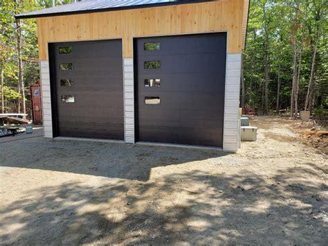 garage doors installed  bar harbor maine
