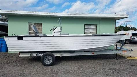 Aluminum Flats Cat Boats by Flats Cat New And Used Boats For Sale
