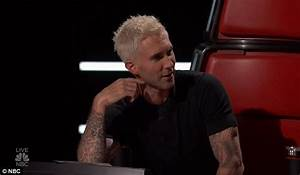 Blake Shelton goes blonde to mock Adam Levine on The Voice ...