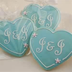 wedding cookie favors monogrammed cookie favors for wedding anniversary 1