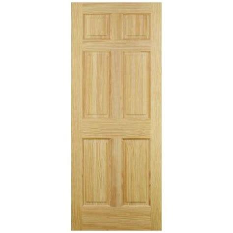 home depot 6 panel interior door jeld wen 6 panel pine interior door slab thdjw101200242