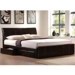 faux leather king size bed frames with storage ideas with upholstered king platform storage bed