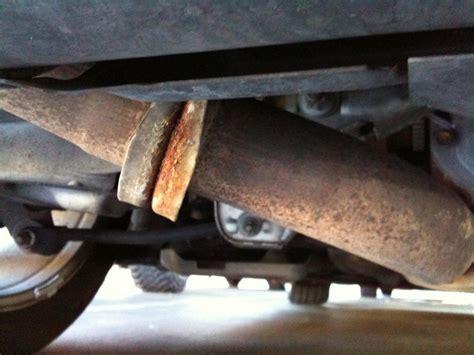 rust  exhaust normal myzcom nissan