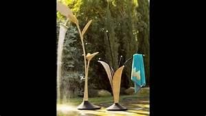 Gartendusche Von Unten : 10 moderne gartenduschen designerduschen aus kunststoff und edelstahl youtube ~ Markanthonyermac.com Haus und Dekorationen
