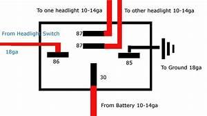 Bosch 5 Pin Relay Wiring Diagram