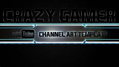 Gaming Channel Wallpapers Gamer Template Banner Crazy