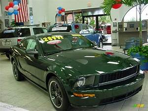 2008 Highland Green Metallic Ford Mustang Bullitt Coupe #30935579   GTCarLot.com - Car Color ...