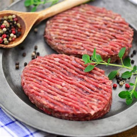 hache de cuisine steack haché de bœuf