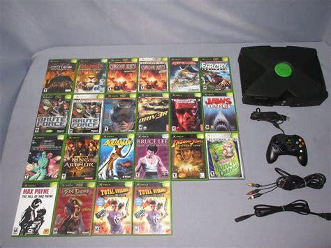 Los juegos de xbox 360 pueden tener un tamaño enorme y demoran horas en descargarse. Juegos De Xbox Clásico Descargar / Consola Xbox Clasico ...