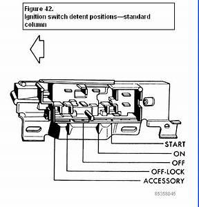 Yj Steering Column Diagram