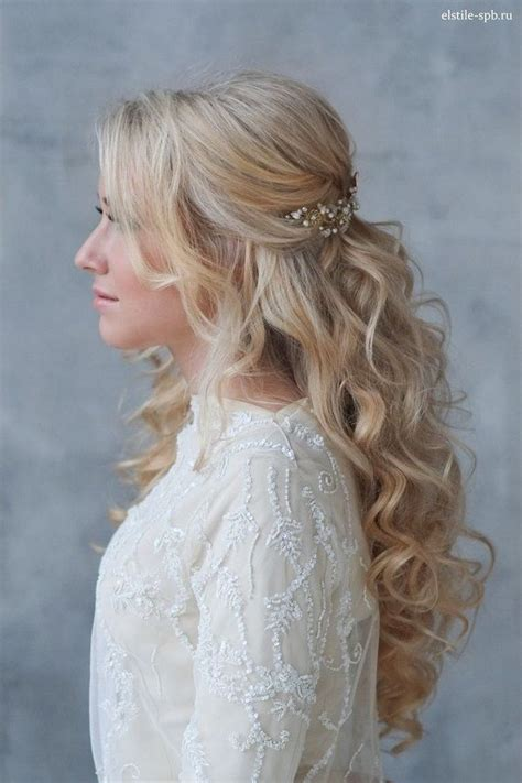 Wavy Half Updo Hairstyles by 22 S Favorite Wedding Hair Styles For Hair