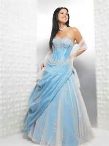 robes de mariã es tati robes de mariée blanc et bleu robe de mariée décoration de mariage