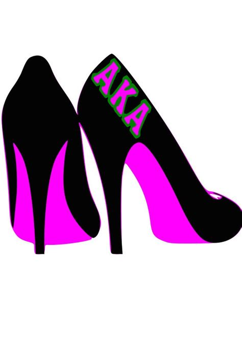 We'll help you find free icons for your web projects, apps, magazines, posters, advertising designs or in any other way. Alpha Kappa Alpha Shoes AKA Sorority SVG Cricut SVG Cricut