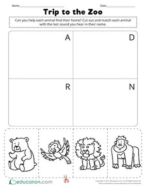 zoo education worksheets paint the town zoo worksheet education com