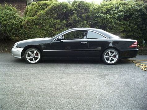 Find Used 2001 Mercedes-benz Cl500 Base Coupe 2-door 5.0l