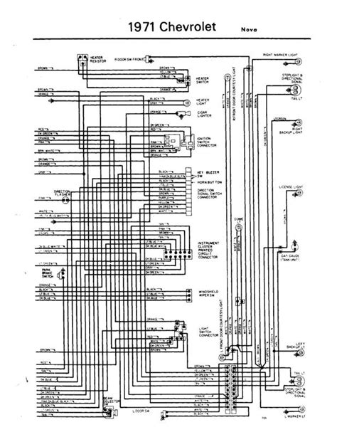 1971 Chevy Starter Wiring Diagram by All Generation Wiring Schematics Chevy Forum
