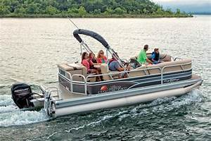 2015 Sun Tracker Party Barge 20 DLX Pontoon Boat Review ...
