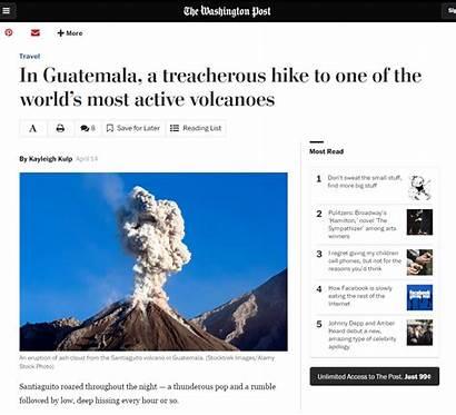 Volcano Articles Common Sense Tourism Agu Often