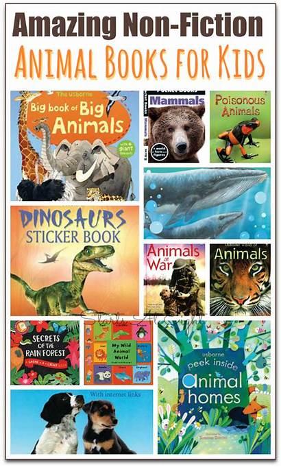 Fiction Books Non Animal Nonfiction Children Reading