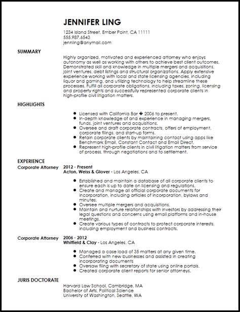 contemporary  house lawyer resume template resume