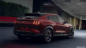 2021 Ford Mustang Mach-E Electric SUV - Rear Three-Quarter | HD Wallpaper #14