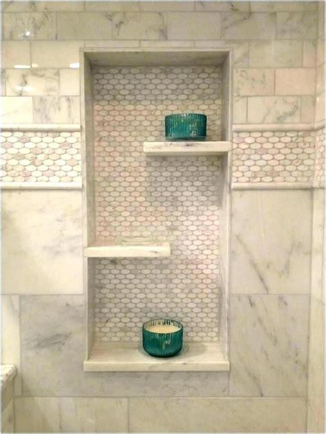 recessed shower shelf insert shower shelf ideas tile