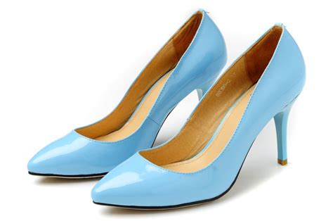 light blue shoes light blue high heel shoes fashionate trends