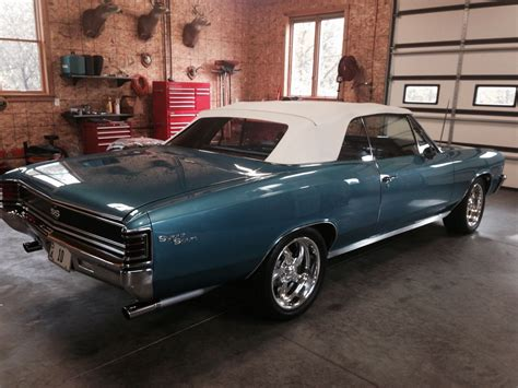 Chevrolet Chevelle Ss For Sale by 1967 Chevrolet Chevelle Ss Convertible For Sale