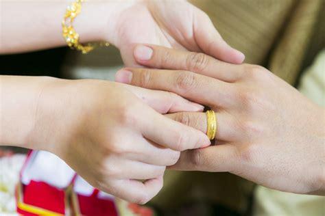exchange wedding ring stock photo wedding stock photo