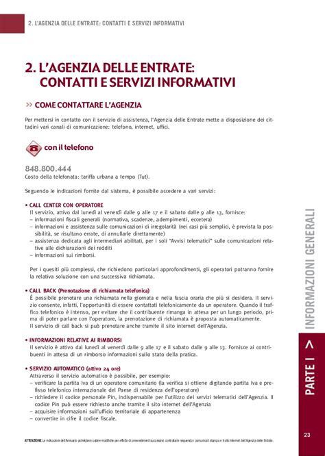 Agenzia Entrate Trova Ufficio by Annuario 2012 Online Agenzia Entrate