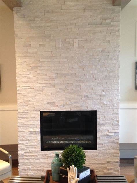 quartz ledgestone fireplace supplied  installed