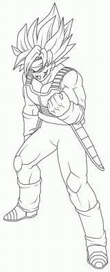 Bardock Ssj Coloring Dragon Pages Ball Dbz Lineart Drawing Edit Gt Print Avatar Last Airbender Deviantart Outline Games Getdrawings Super sketch template