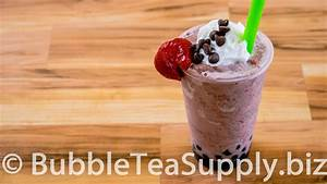 How to Make Strawberry Chocolate Chip Bubble Tea with Boba ...